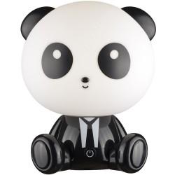 Lampe veilleuse LED Enfant Panda XL Blanc et noir