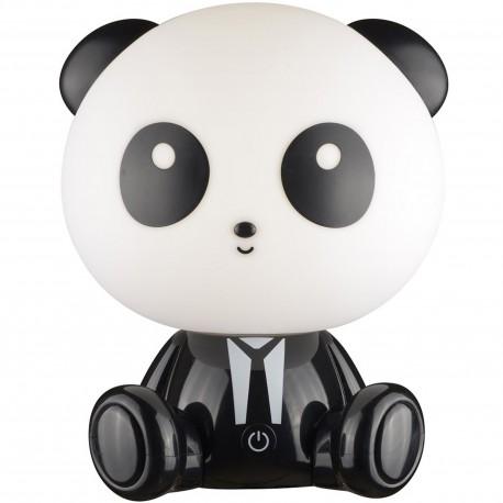 Lampe LED veilleuse Enfant Panda Blanc et noir