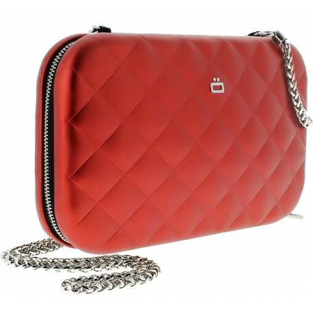 Sac minaudière Quilted Lady bag Rouge