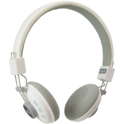 Casque audio Bluetooth Blanc Main libre