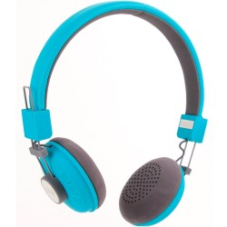 Casque audio Bluetooth Bleu Main libre