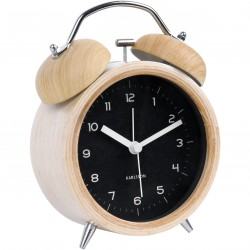 Horloge Livres Noire