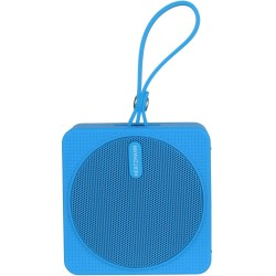 Enceinte haut-parleur Bluetooth nomade Waterproof Bleue