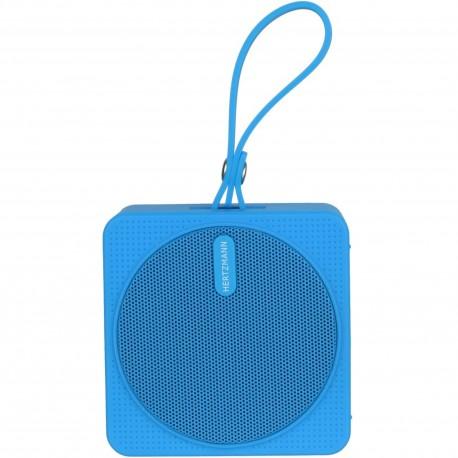 Enceinte haut-parleur Bluetooth nomade Waterproof Bleue