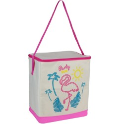 Glacière Lunch bag isotherme souple California cool Party sun Rose