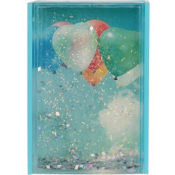 Cadre-photo Mini Paillettes Bleu