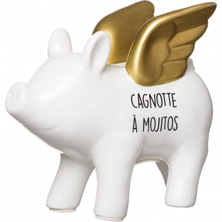 Tirelire Cochon M Chrome