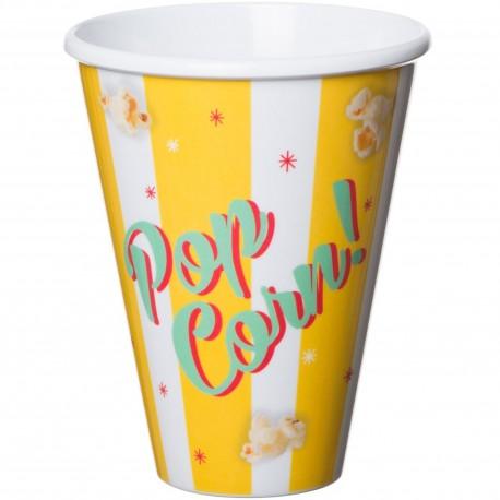 Pot cup à popcorn Coca-Cola Jaune
