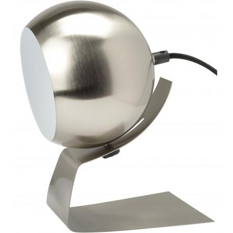 Lampe Boule orientable Olga Gris acer brossé