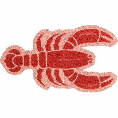 Paillasson Homard Lobster Rouge