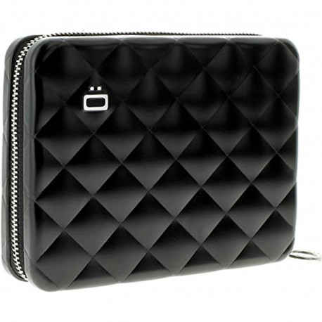 Portefeuille Quilted Passport Noir