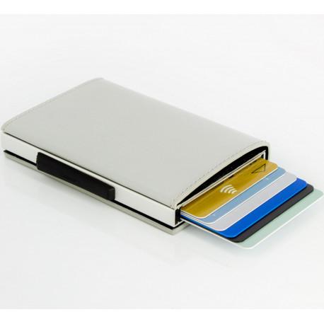 Porte-cartes Stockholm Bleu