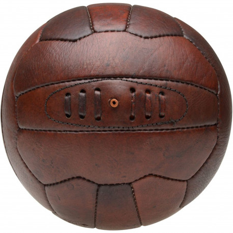 Ballon de foot Vintage Marron