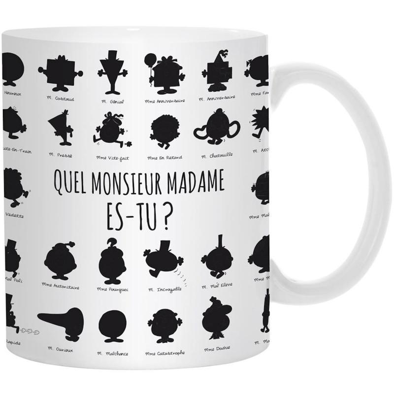 Tasse Mug Céramique Mr Mme Monsieur Madame