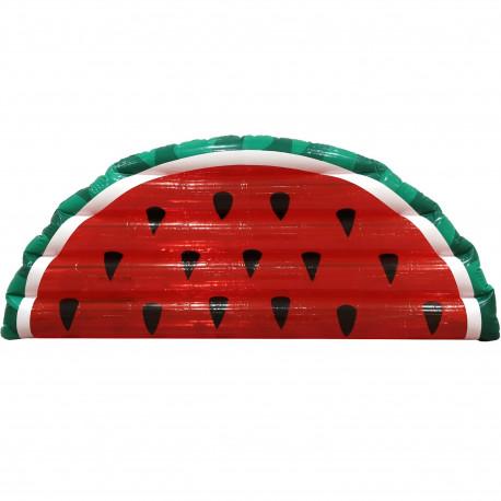 Matelas bouée gonflable Pastèque Rouge et vert