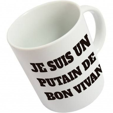 Mug Sale gosse Blanc