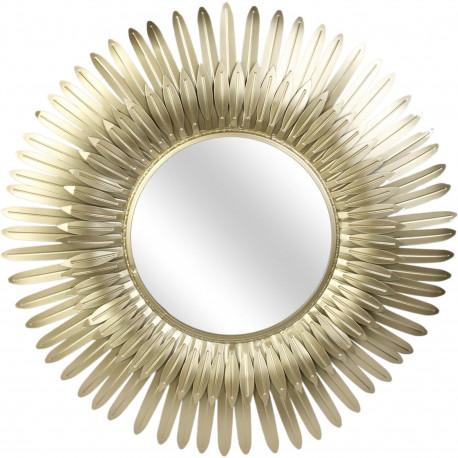 Miroir de table Chien Blanc