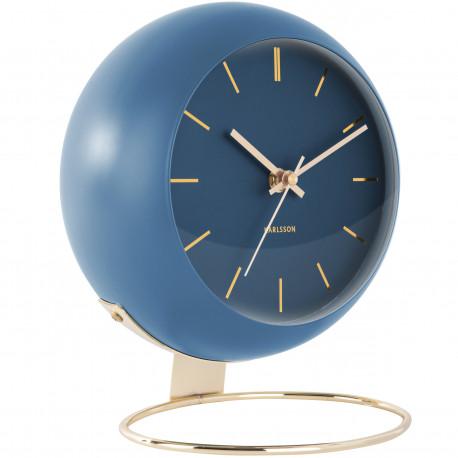Horloge  Livres - Noir