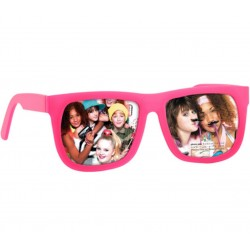 Cadre-photos Lunettes Sunglasses holiday view Rose