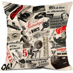 Coussin Collage