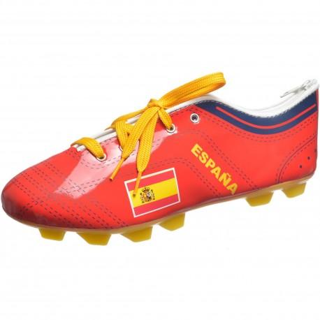 Trousse à crayons Chaussure de foot Espagne Rouge