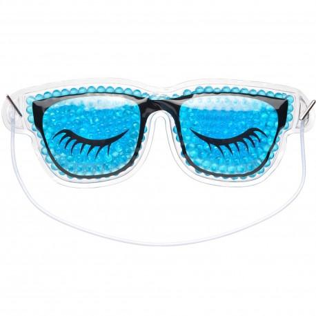 Masque Yeux relaxant Lunettes Bleu