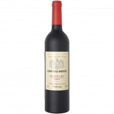 Coffret sommelier Bouteille Grand modèle 5 ustensiles à vin